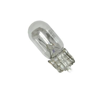 T10 steeklampje 12v 5w achterlicht Piaggio Zip wit of rood