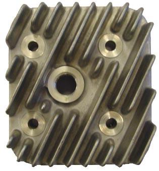 Cilinderkop 40mm 2-takt 49 cc