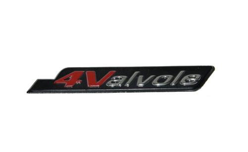 Sticker 4-valve Zijscherm Vespa S origineel.