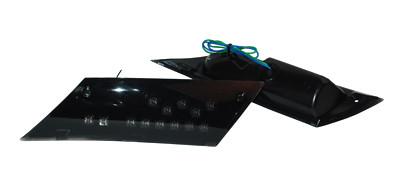 knipperlichtset led met weerstand zip2000 zwart achter DMP.