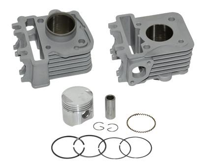 Cilinder Piaggio / Vespa 4-takt 2V 50cc aluminium