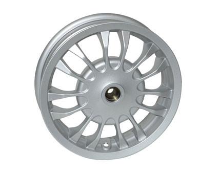 Achtervelg Vespa Primavera / Sprint 12'' zilver origineel