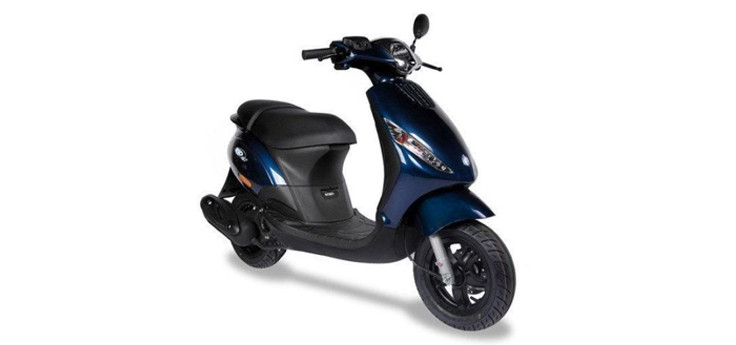 Kappenset Piaggio Zip midnight blauw glans