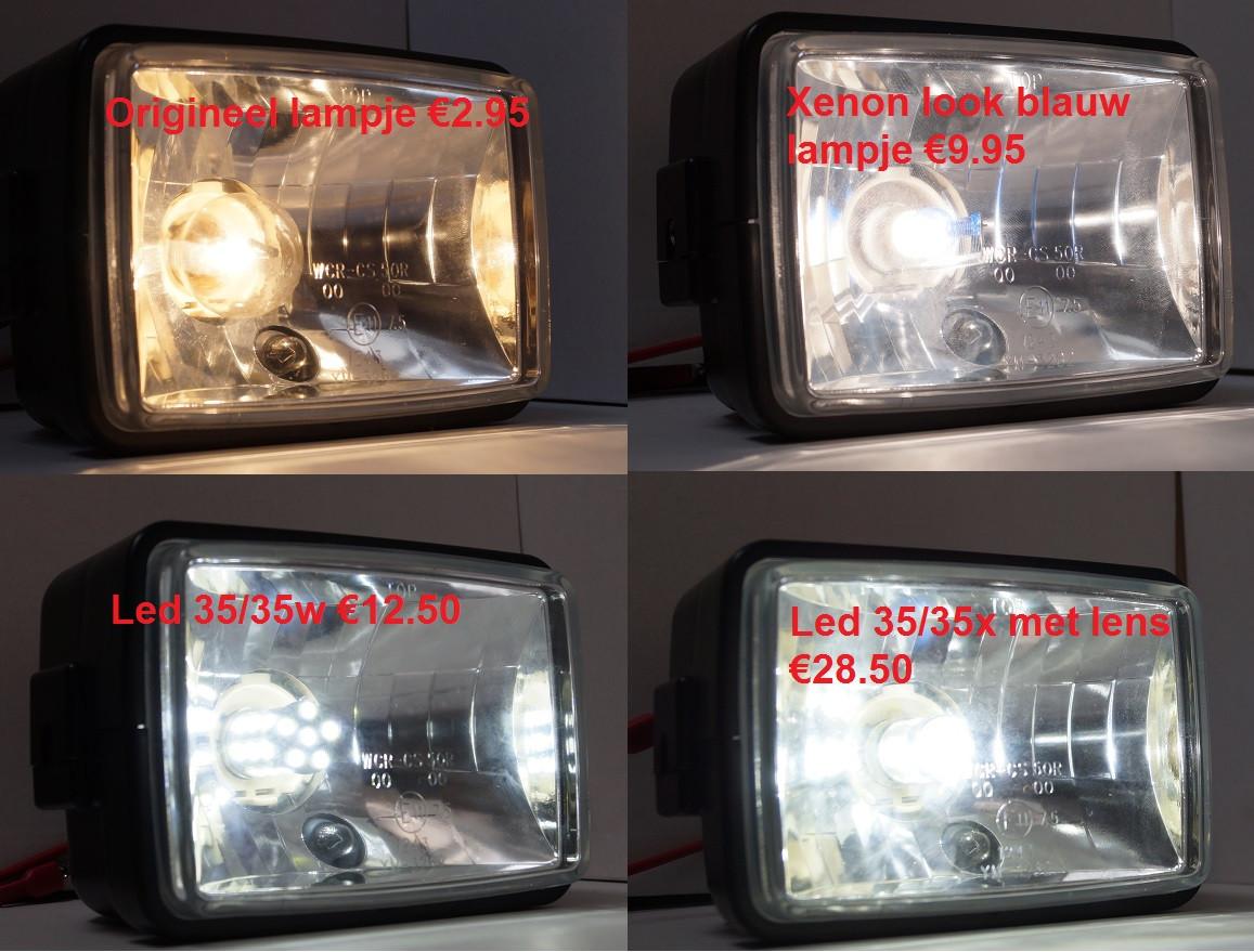 Lampje voorlicht 35/35 watt