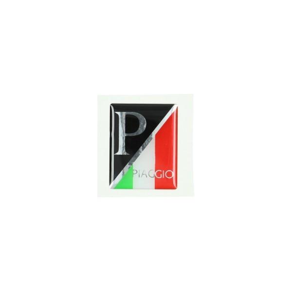 Plak logo voorscherm Piaggio | Vespa Italië