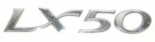 Sticker / Logo'' LX50 '' Vespa Zijscherm Origineel