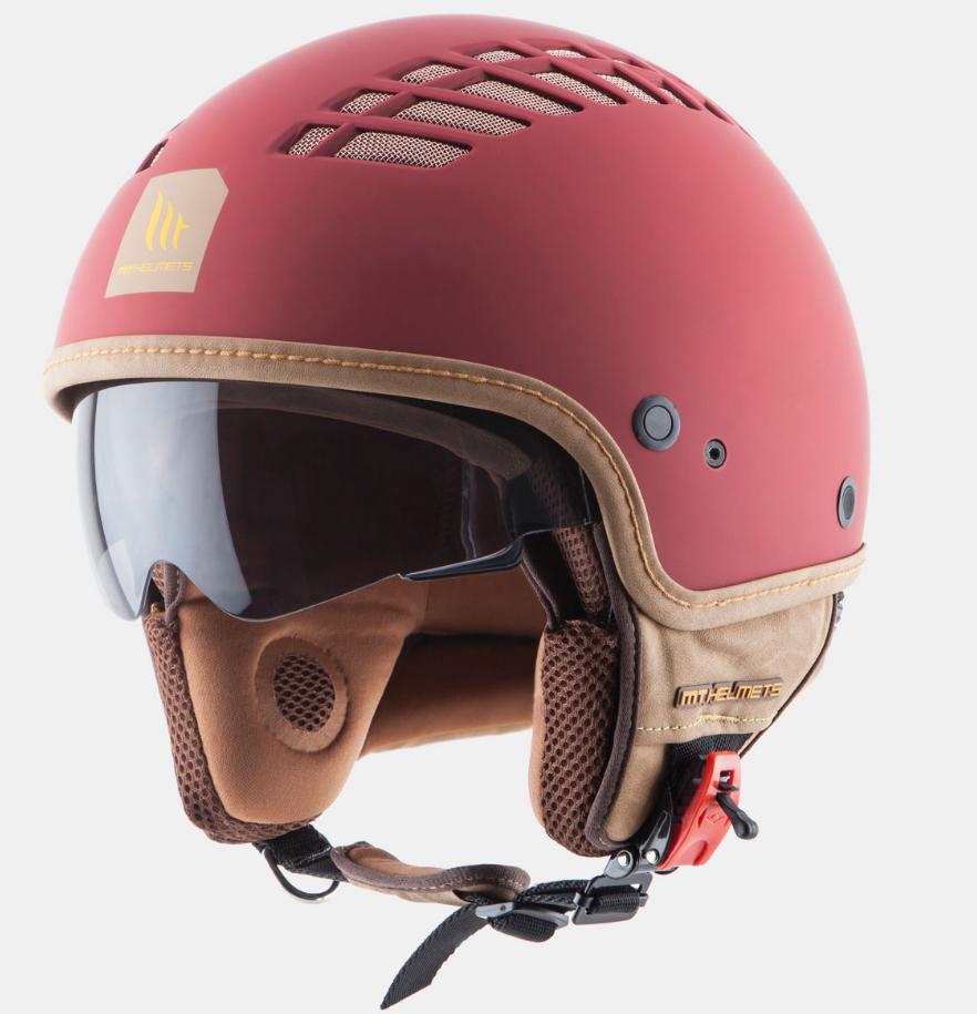Helm MT Cosmo Mat Rood. Diverse maten.