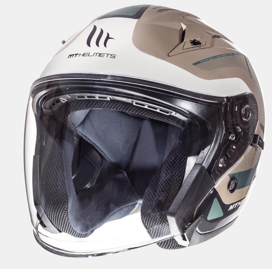 Helm MT Crossroad Titanium. Diverse maten.