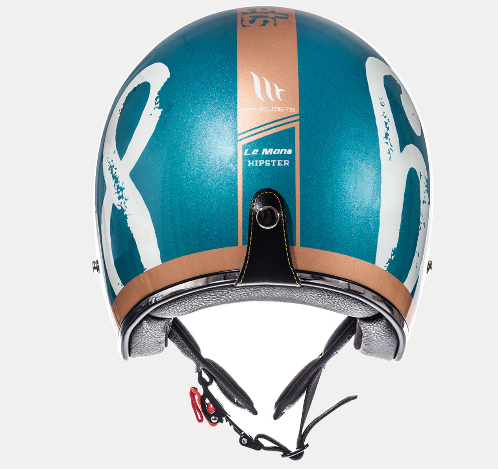 Helm MT Le Mans SV Hipster. Diverse Maten.