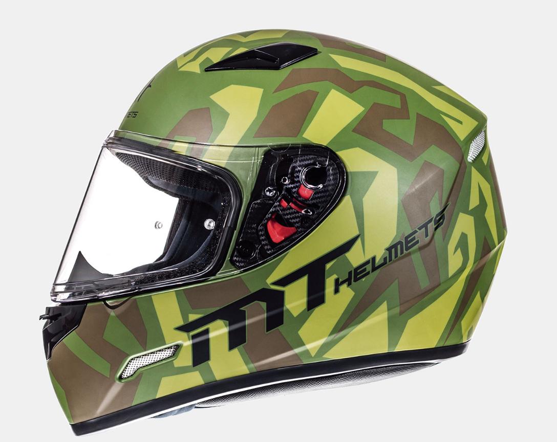 Helm MT Leopard. Diverse maten.
