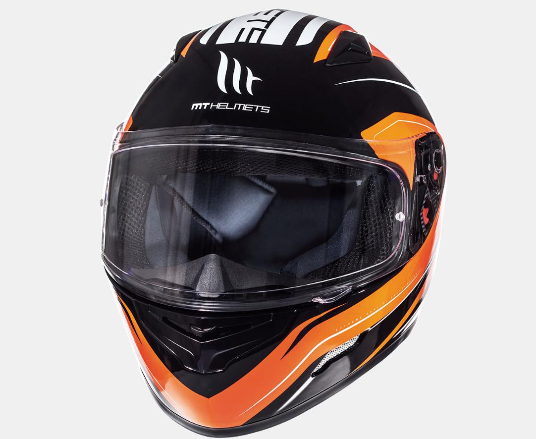 Helm MT Maker Oranje. Diverse maten.