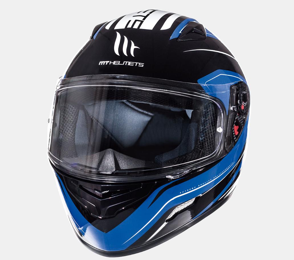Helm MT Maker Blauw. Diverse maten.
