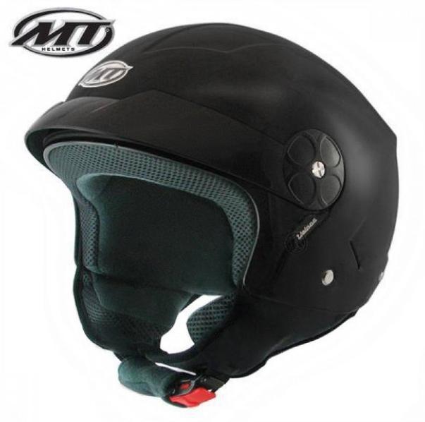 Helm MT Veloce Mat Zwart. Diverse maten.