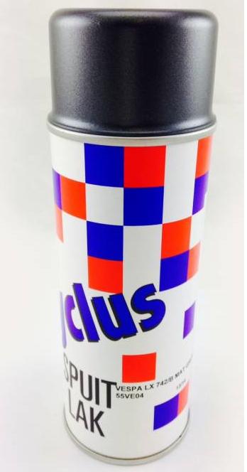 Spuitlak / spuitbus Originele Vespa Kleurcode , Diverse kleuren .