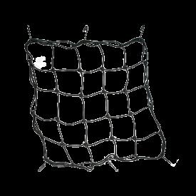 Bagagenet T.J. Marvin 40 x 40 cm 6 Haken Zwart Universeel