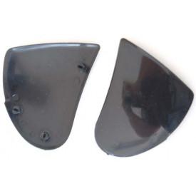 Bevestigingset voor het viezier van een Tornado integraal helm.