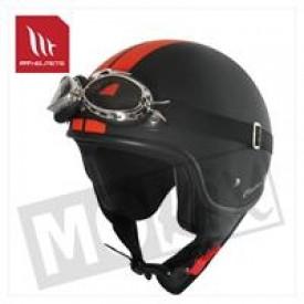 Helm MT Custom Line Kids Zwart/Oranje