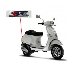 Sticker / Logo S50 zijscherm Vespa S Smoke.