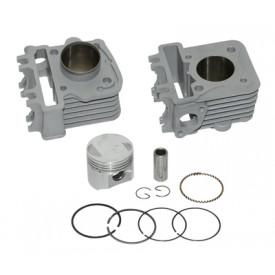 Cilinder Piaggio / Vespa 4-takt 2V 60cc aluminium