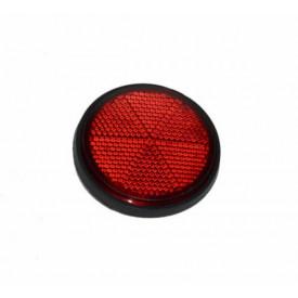 Reflector zijkant rond rood 60mm M6 bout Piaggio | Vespa