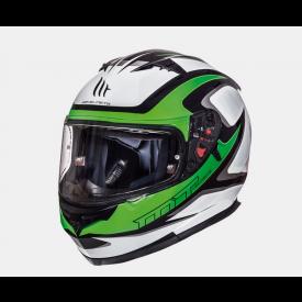 Helm Blade SV Morph groen/wit. Diverse maten.