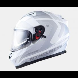 Helm Blade SV Reflexion Fluor wit/grijs. Diverse maten.
