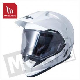Helm MT Synchrony Duo Sport Glans Wit