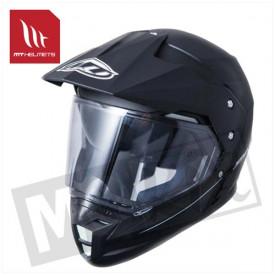 Helm MT Synchrony Duo Sport Mat Zwart