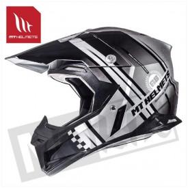 Helm MT Endurance Zwart/Zilver