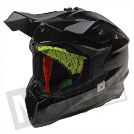 Helm MT Falcon Solid Glans Zwart