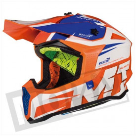Helm MT Falcon Weston Fluor Oranje