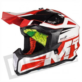 Helm MT Falcon Weston Fluor Rood
