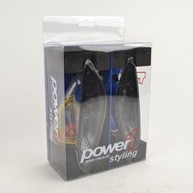 Led knipperlichten achterzijde. Vespa Primavera / Sprint. Smoke. Power-one MATRIX.