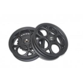 Velgenset Custom Vespa Sprint + Primavera mat zwart