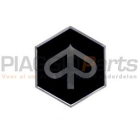 Zip logo plaklogo voorscherm Piaggio Zip / Fly zwart