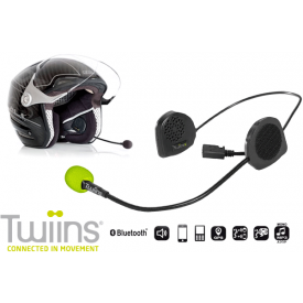 Hands-free Bluetooth Communicatie Systeem TWIINS D2