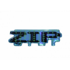 Sticker zijscherm Piaggio Zip oud model 2000