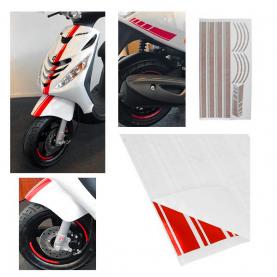 Stickerset Sport AMG 14-delig Piaggio ZIP Diversen kleuren