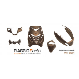 Kappenset 5-delig BMW Marrakesh Bruin Piaggio Zip SP