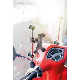 Smart Scooter Flow, Lampa universele telefoon smartphonehouder. Voor aan de spiegel of windscherm.