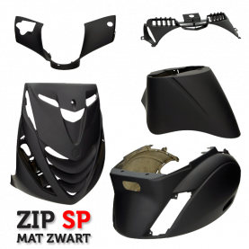 Kappenset Piaggio Zip Sp look mat zwart
