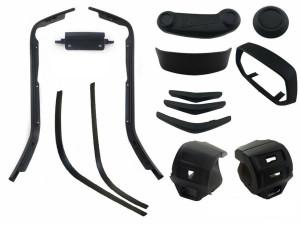 Styling pakket glans zwart Vespa Sprint / Primavera