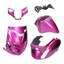 Purple Metalic paars kappenset piaggio zip sp