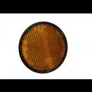 Reflector zijkant rond oranje 60mm M6 bout Piaggio | Vespa