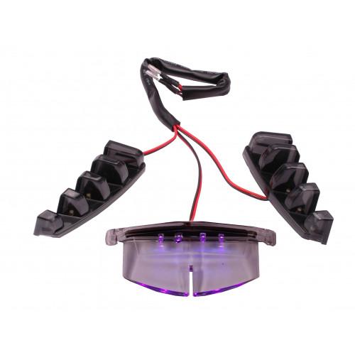 Verlichting Grill LED Piaggio Zip  diverse kleuren