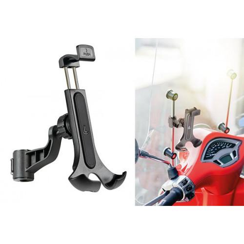 Smart Scooter Flow, Lampa universele telefoon smartphonehouder. Voor aan de spiegel of windscherm. 1