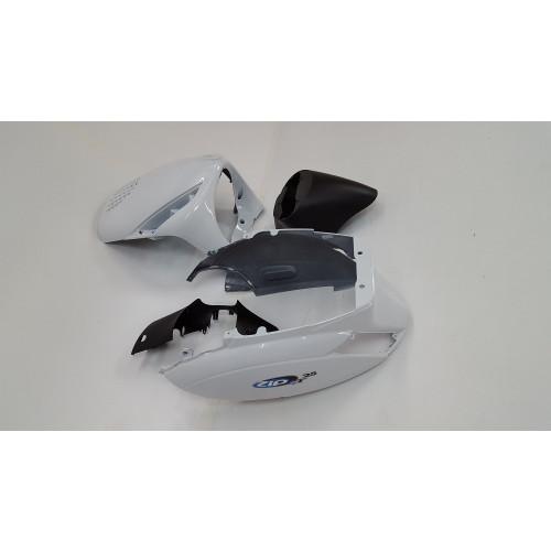 Kappenset Piaggio Zip Origineel  wit of zwart gedemonteerd.