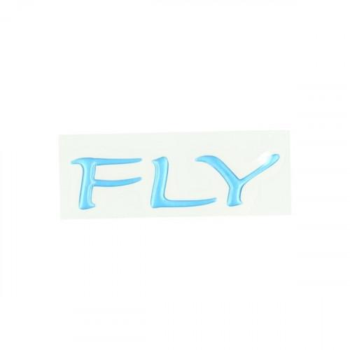 Sticker zijscherm Piaggio Fly blauw