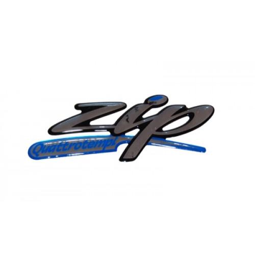 Sticker 3d zijscherm PIaggio Zip quattrotempi
