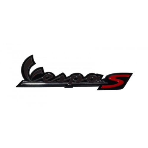Sticker / Logo Vespa S zijscherm origineel.